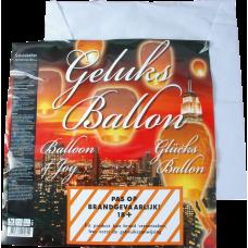 Geluksballon wit   (GV)