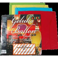 Geluksballon assorti kleuren    (GV)